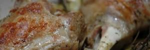 Agnello con cicoria selvatica