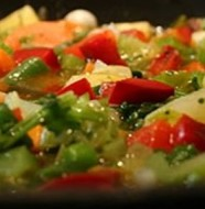 Giambot di verdure alla brindisina