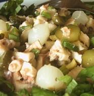 Insalata di sedano al gorgonzola