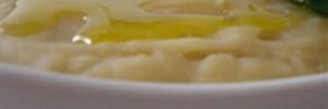 Purea di fave secche e cipolla
