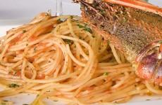 Spaghetti con l'argosta