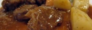 Spezzatino di vitello in salsa rafano