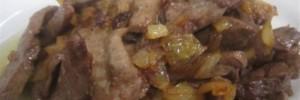 Fegato con cipolla